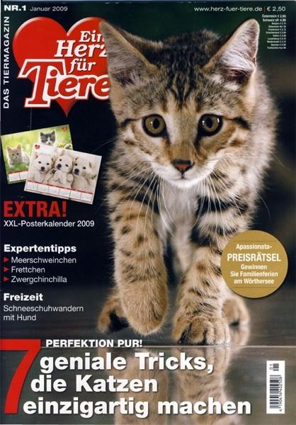 Famous Ein Herz für Tiere Abo – Ein Herz für Tiere Zeitschrift im  NL84